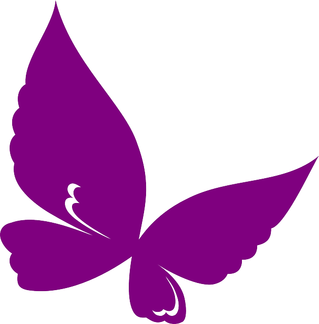 Purple Crayon Clipart