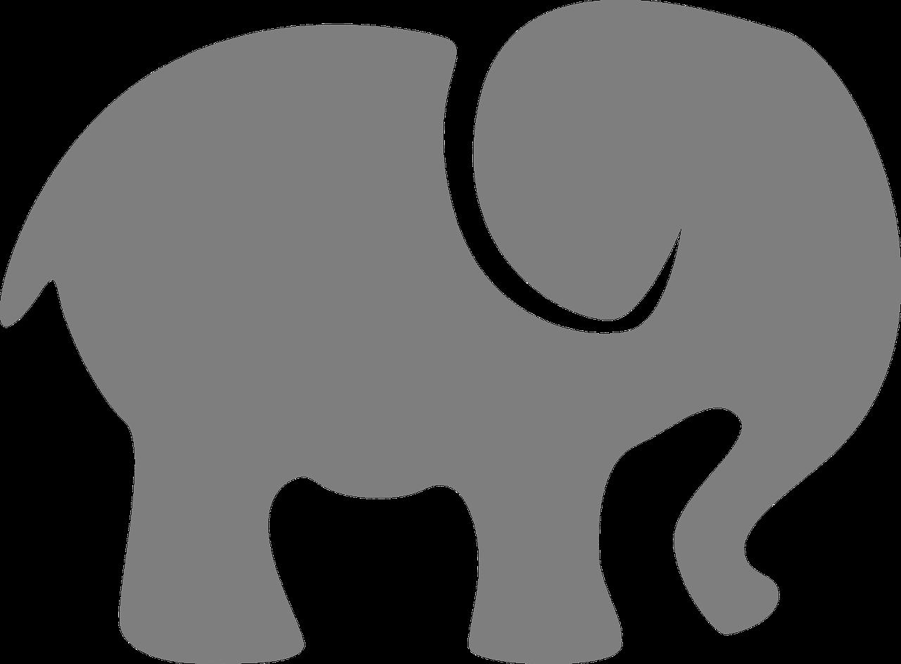 Картинки трафарет слона с ребенком