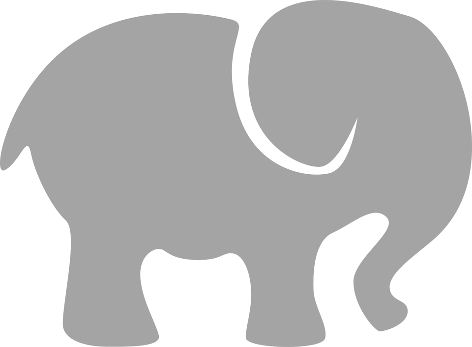 Free vector graphic: Elephant, Gray, Silhouette, Animal ...