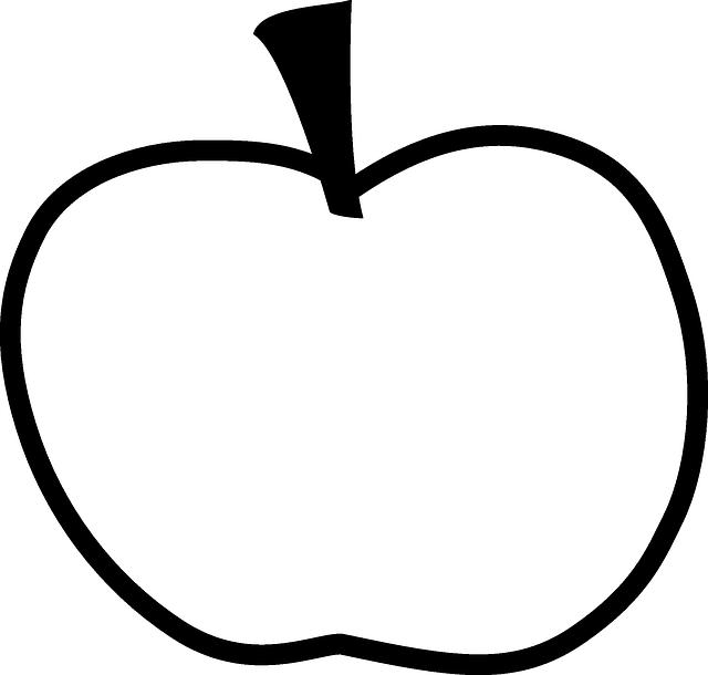 Яблоко рисунок и груша