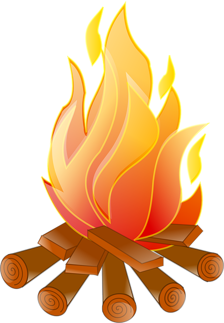 Free Vector Graphic Campfire Burn Flame Heat Free