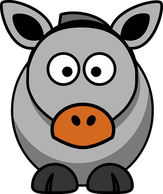Sheep Face Clip Art