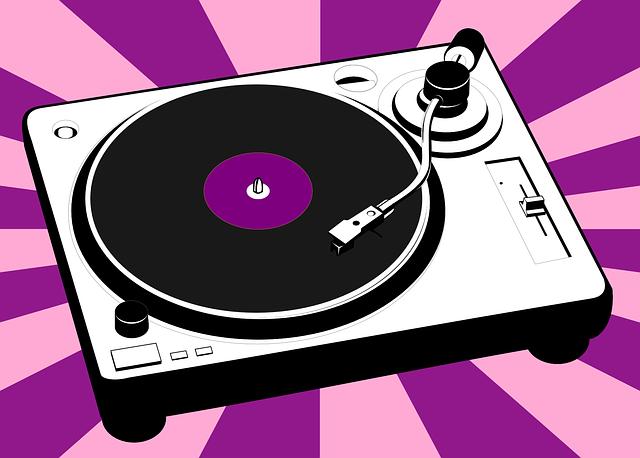 turntable vinyl music 183 free vector graphic on pixabay