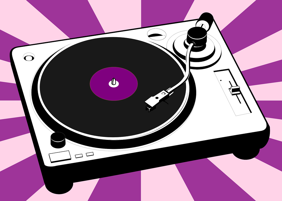 Turntable Vinyl Music 183 Free Vector Graphic On Pixabay