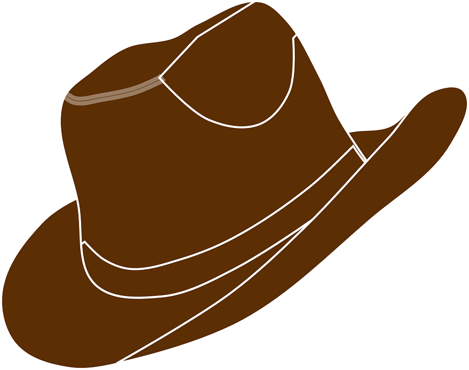 8590cb1a208 Hat Cowboy Brown - Free vector graphic on Pixabay