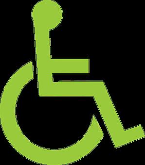 """Résultat de recherche d'images pour """"fauteuil roulant logo vert"""""""