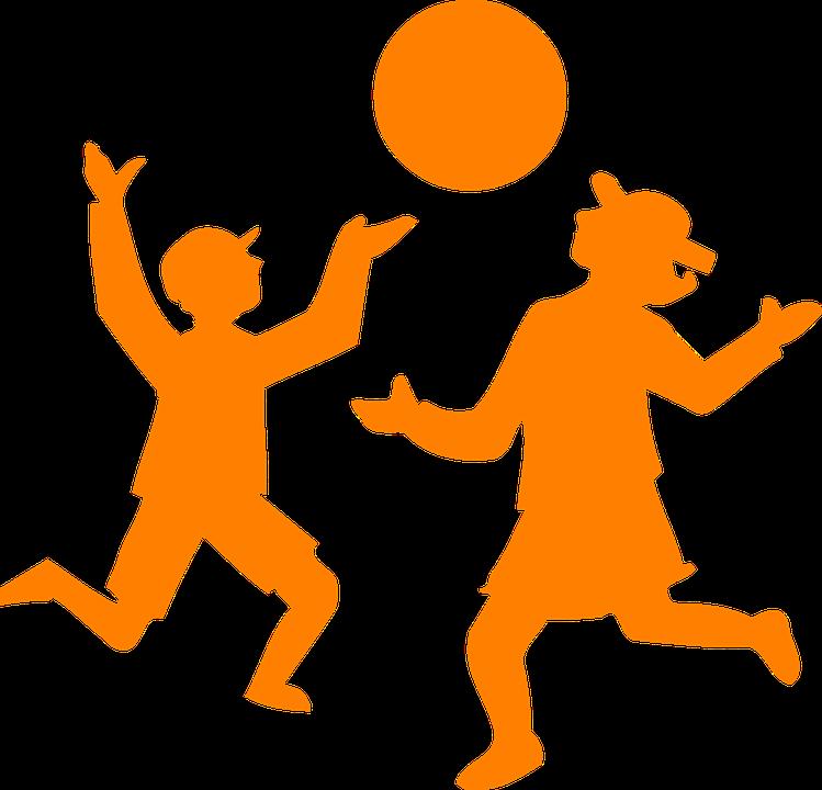Ninos Jugando Bola Graficos Vectoriales Gratis En Pixabay