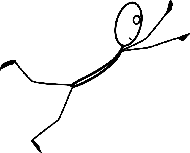 stickman jump fly  u00b7 free vector graphic on pixabay