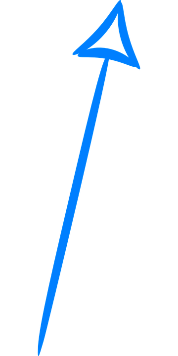Arrow Up Blue U00b7 Free Vector Graphic On Pixabay