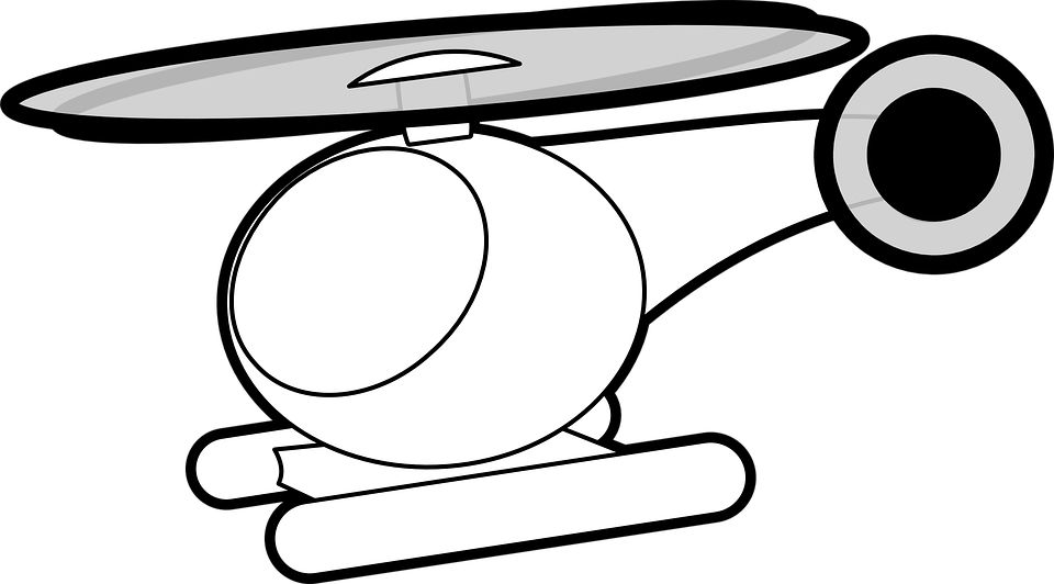 Free Vector Graphic: Helicopter, Fly, Air, Transport