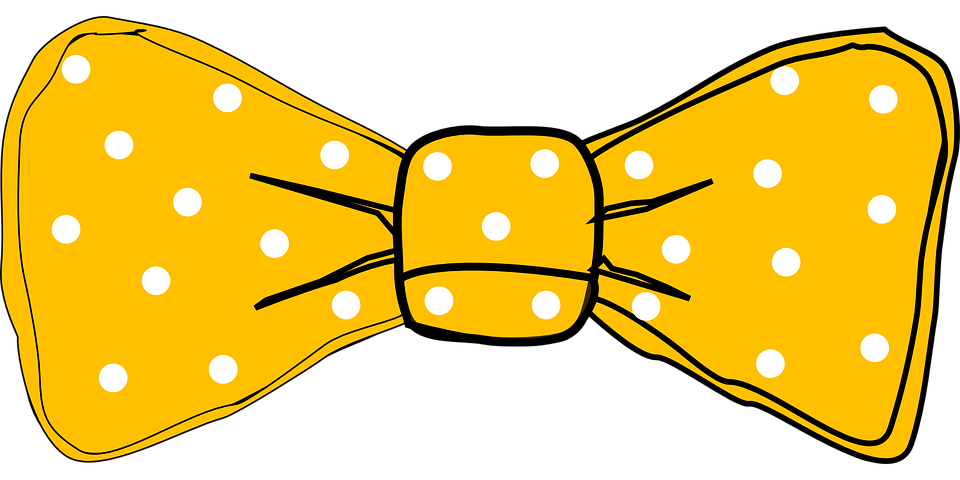 Tie Dots Bow · Free vector graphic on Pixabay