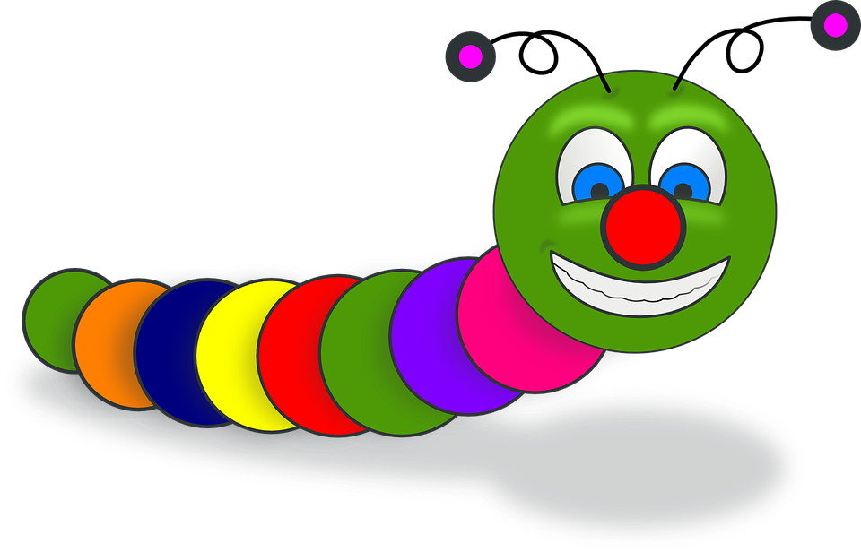 Worm Book Smile 183 Free Vector Graphic On Pixabay