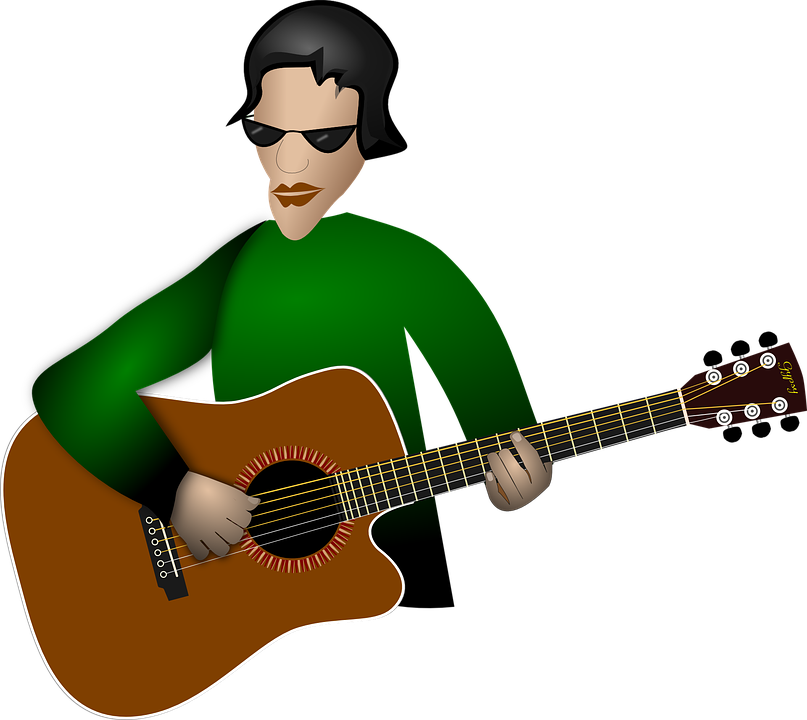Free vector graphic: Acoustic Guitar, Guitar, Man - Free Image on ...