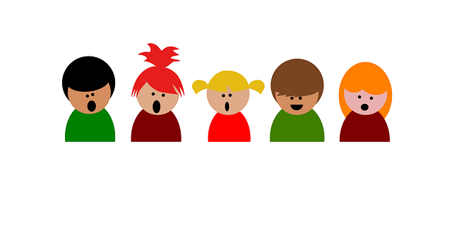 Choir Children Singing · Free Vector Graphic On Pixabay