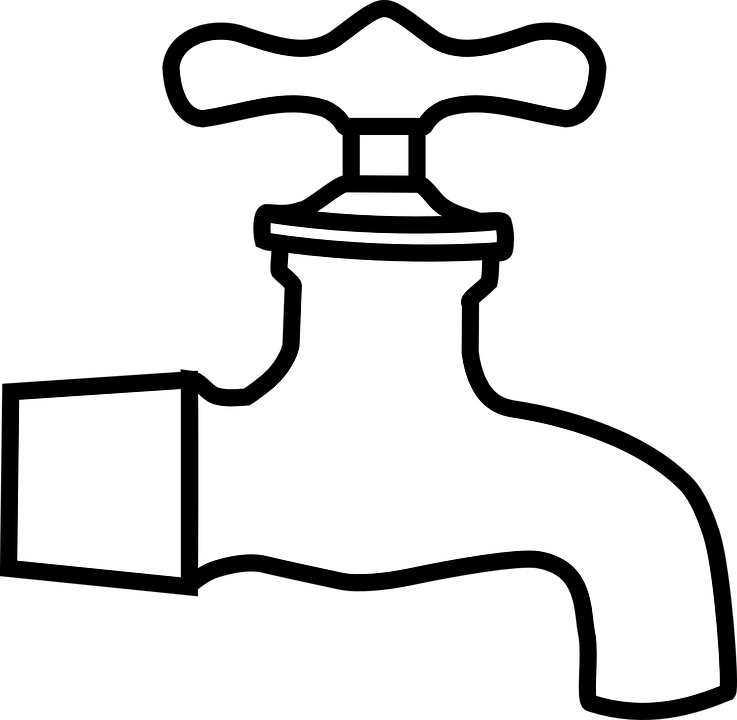 Water Faucet Plumb · Free vector graphic on Pixabay