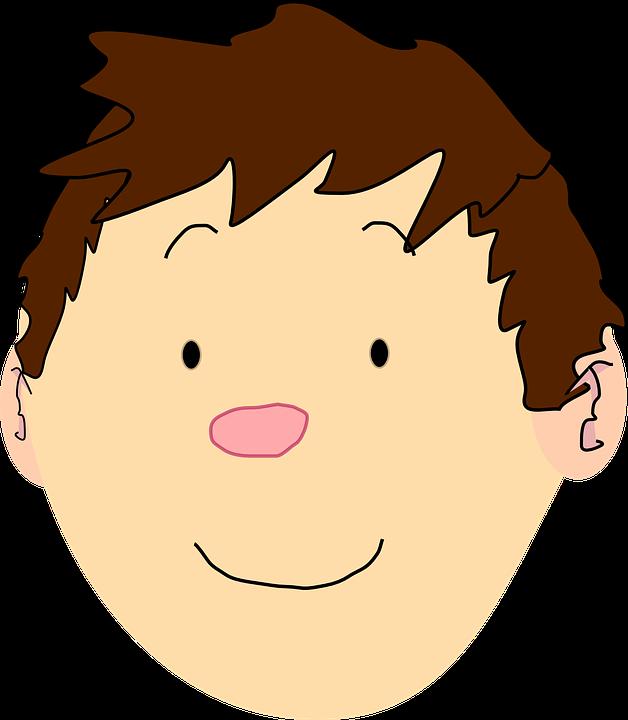 Image vectorielle gratuite gar on visage t te cheveux - Tete de lit garcon ...