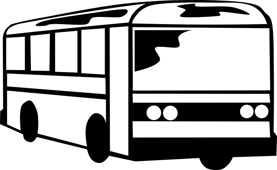 Bus Coach Black · Free Vector Graphic On Pixabay