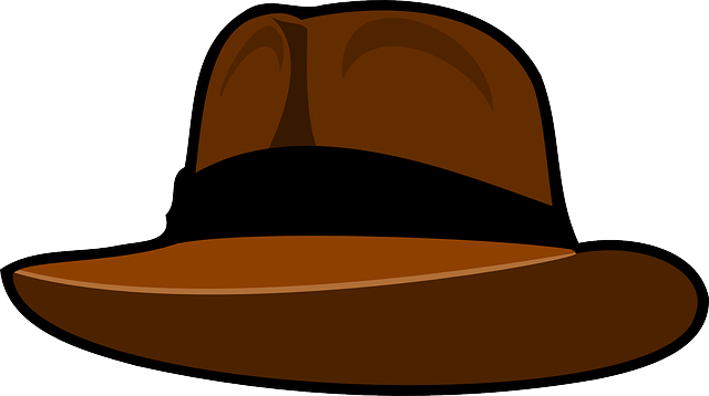 hat fedora brown indiana free vector graphic on pixabay rh pixabay com hat vector ai hat vector template