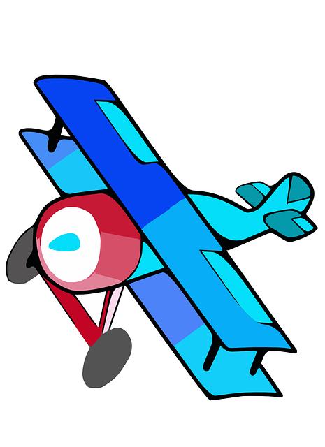 Biplane Plane Airplane · Free vector graphic on Pixabay