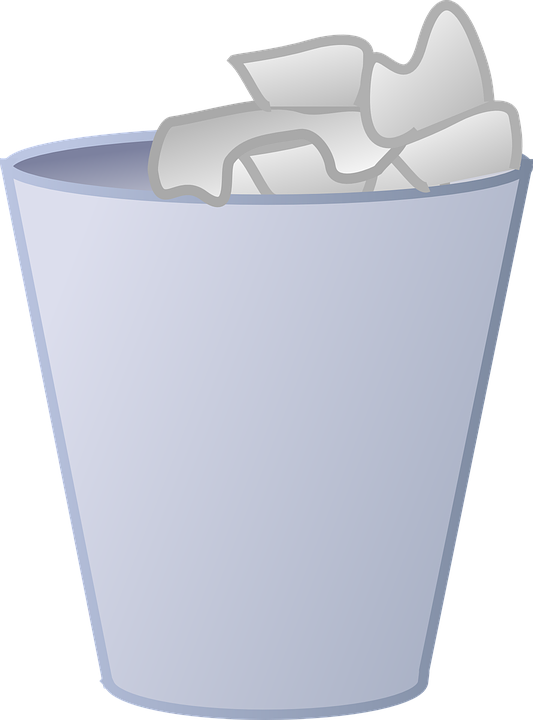 Free Vector Graphic Can Garbage Garbage Can Dustbin