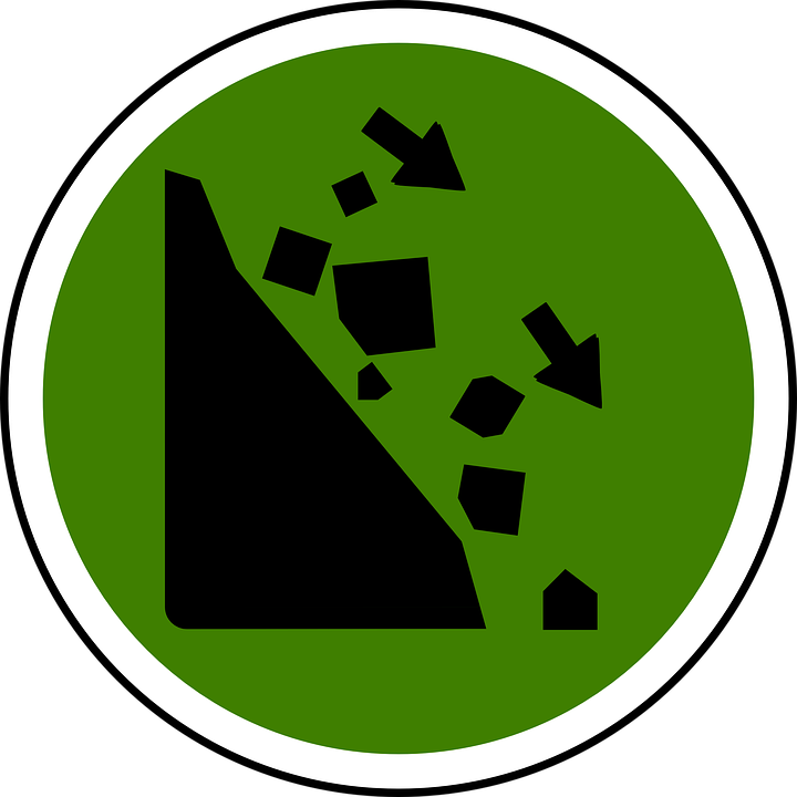 Rock Slide Clip Art