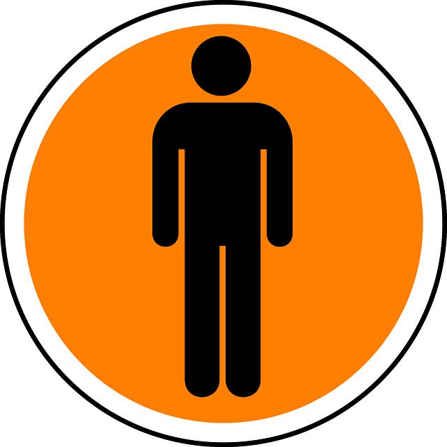 human man sign  u00b7 free vector graphic on pixabay