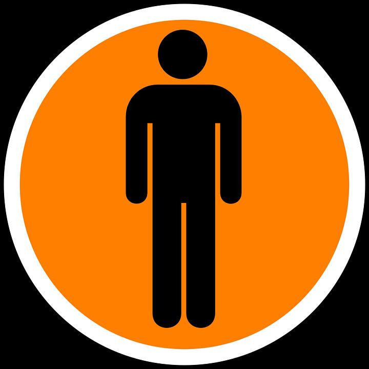human man sign free vector graphic on pixabay rh pixabay com human clipart body human clipart images