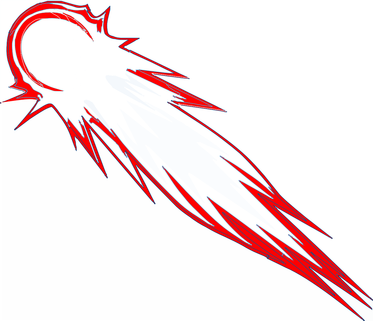 Нарисованная комета картинки