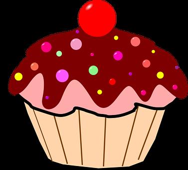 Cupcake, Csokimáz, Kisokos, Cseresznye