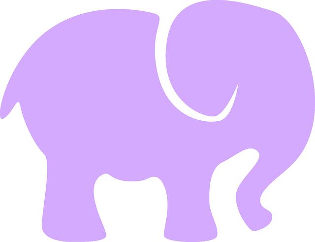 Elefante Bebé Decoración · Gráficos Vectoriales Gratis