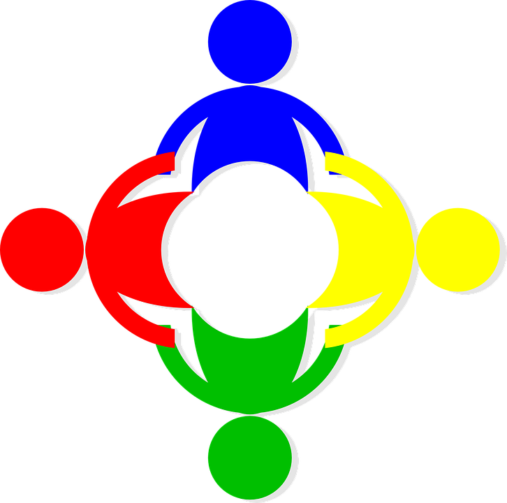 Human Chain, Emblem, Logo, People, Cooperation