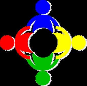 Human Chain, Emblem, Logo, People