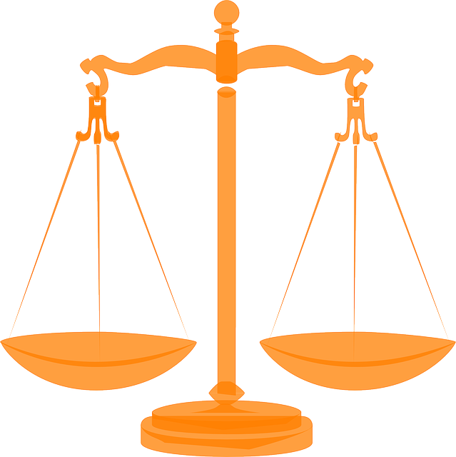 Free vector graphic: Scales, Justice, Balanced, Orange - Free ...