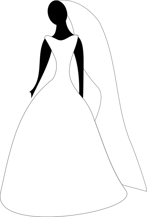 Free vector graphic bridal attire wedding gown bride free image on pixabay 311025 - Robe de mariee bustier transparent ...