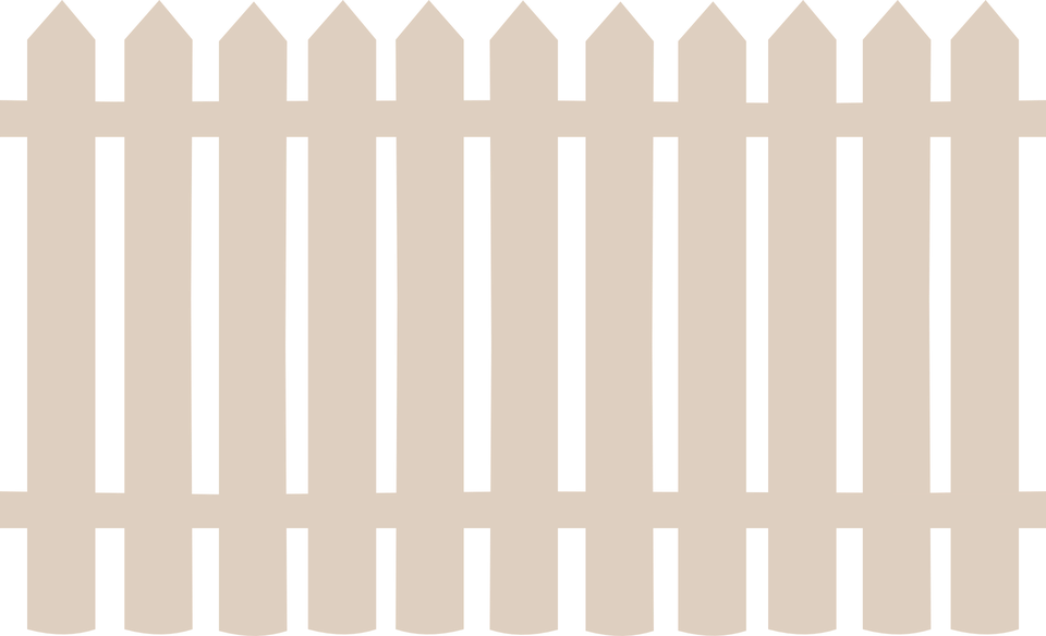 Fence Wooden Barrier · Free vector graphic on Pixabay