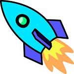 rocket, propulsion, spaceship