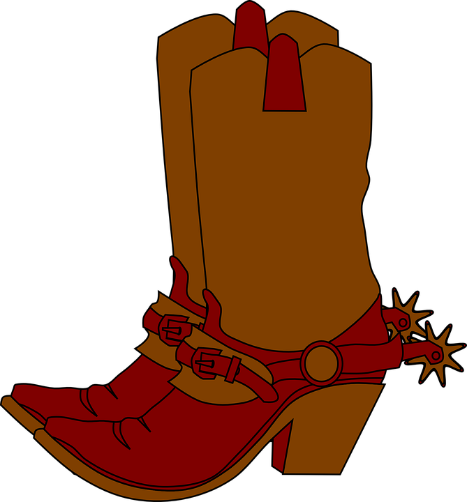free vector graphic cowgirl boots western fashion