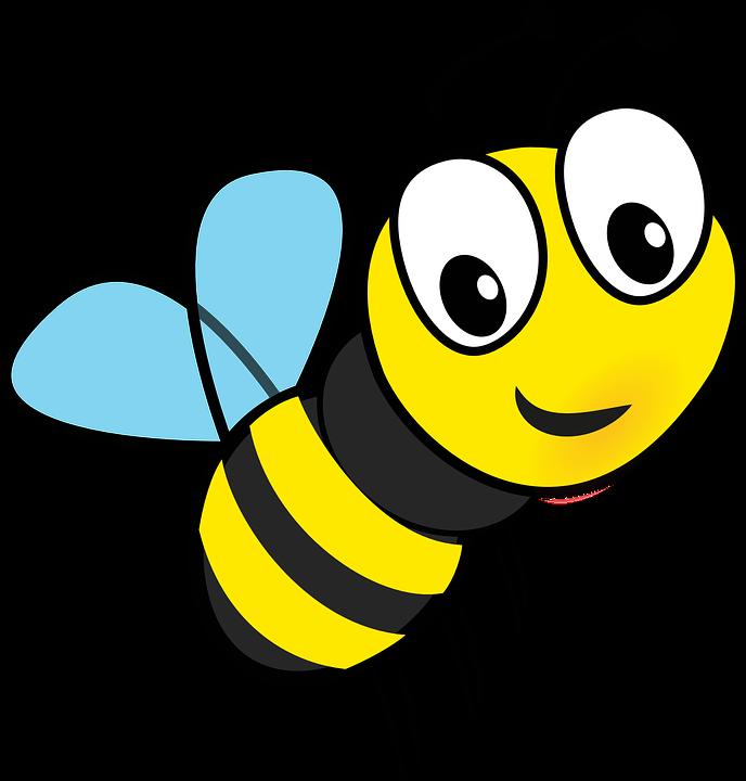 Cartoon bees flying - photo#4