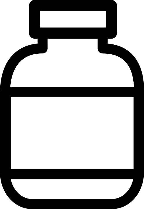 Free Vector Graphic Bottle Jar Container Plain Free