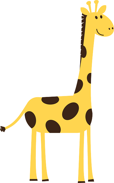 Free vector graphic: Giraffe, Animal, Wild, Nature - Free ...