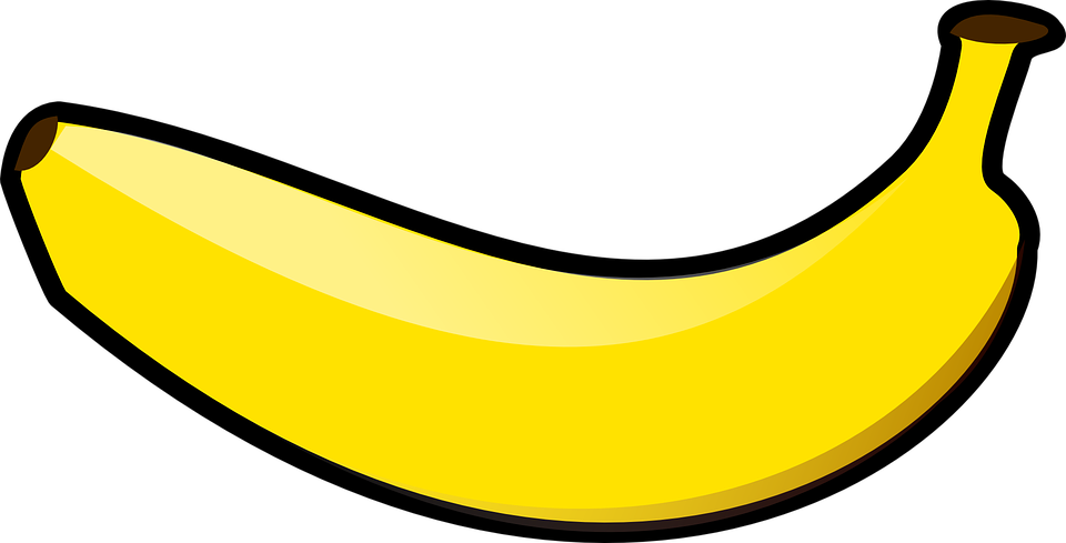 Banana Fruit Yellow Free Vector Graphic On Pixabay