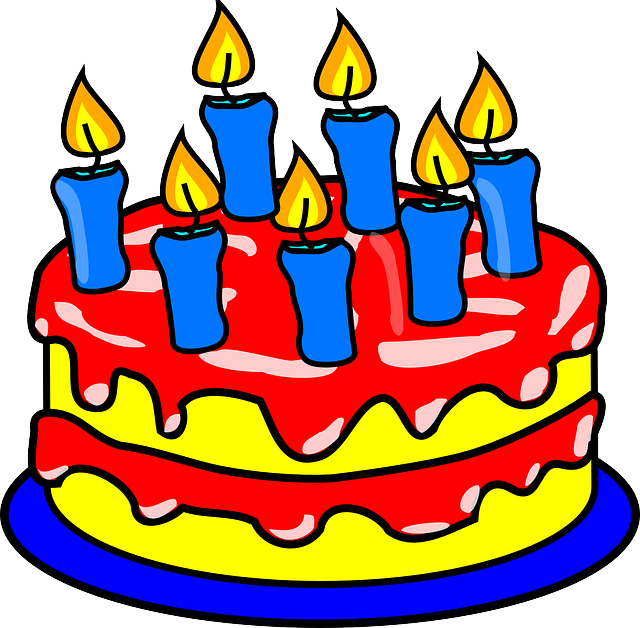 Birthday Cake Candles 183 Free Vector Graphic On Pixabay