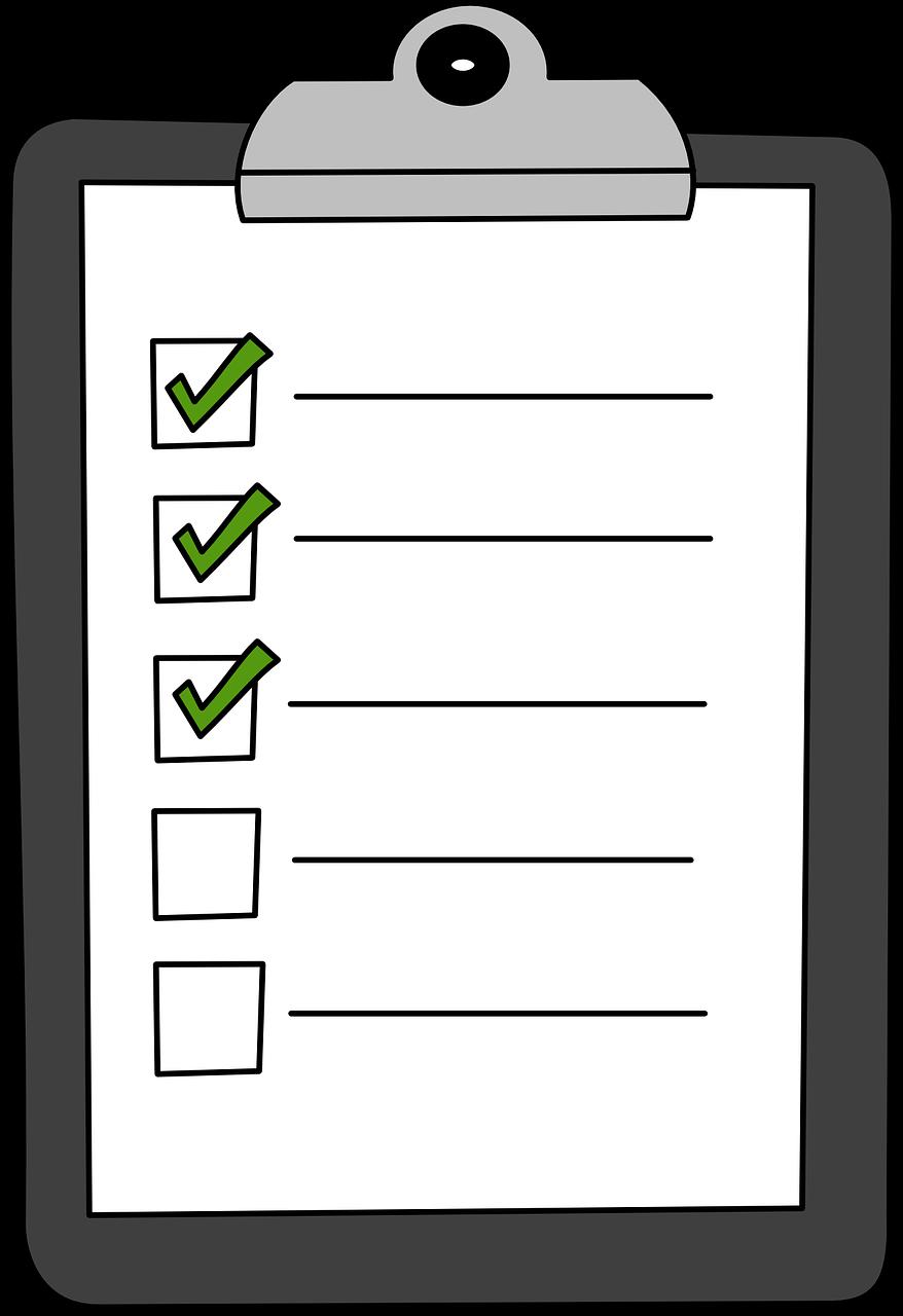 Presse Papiers Vert Vérifier - Images vectorielles gratuites sur Pixabay