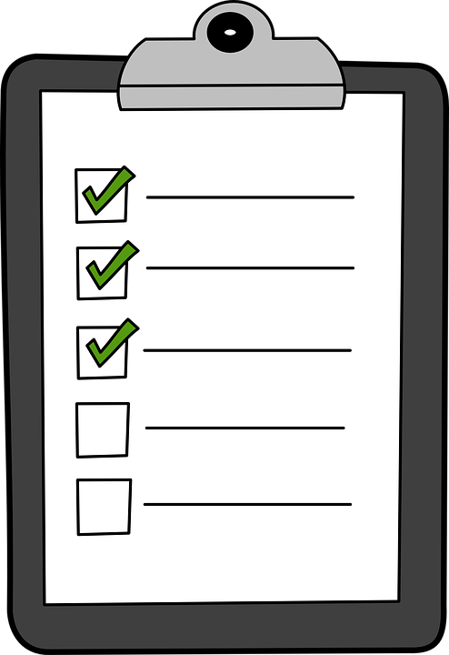Clipboard Hijau Cek Daftar  C B Public Domain