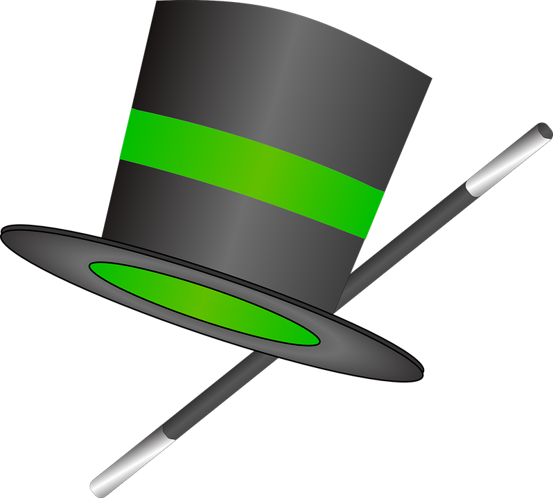 Hat Top Wand Free Vector Graphic On Pixabay