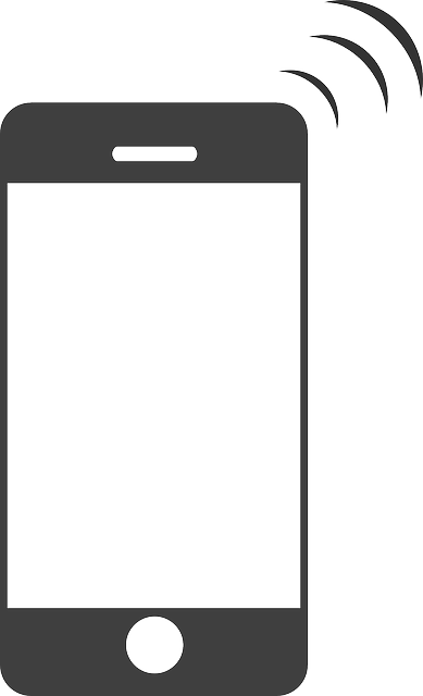 cell phone clipart black and white - photo #40
