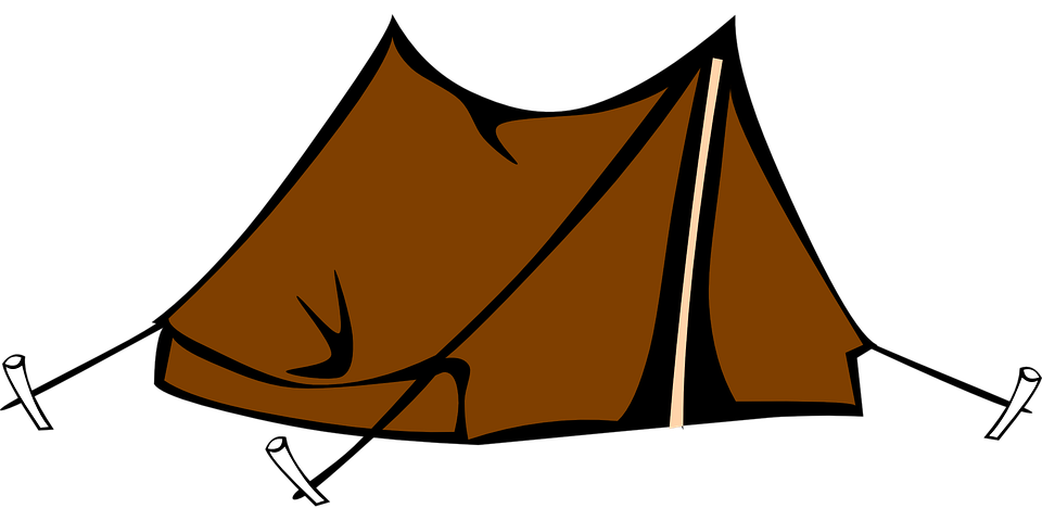 Tent Camping Brown Outdoor Woods Nature Survive
