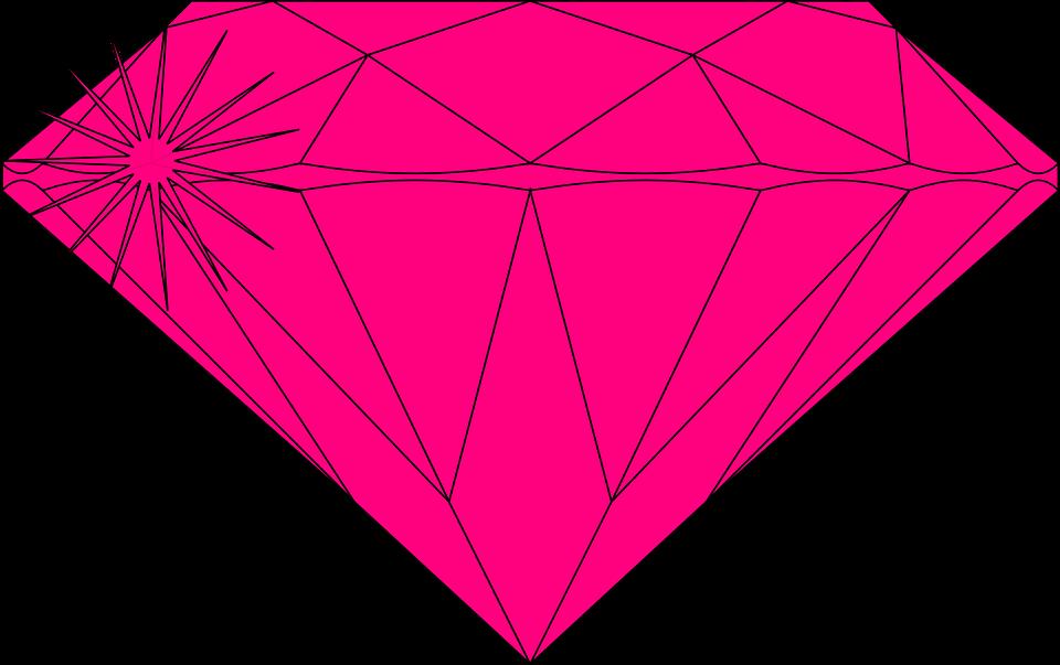 Kostenlose Vektorgrafik: Diamant, Schnitt, Poliert ...