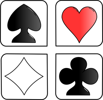 Playing Cards, Face, Hearts, Diamonds