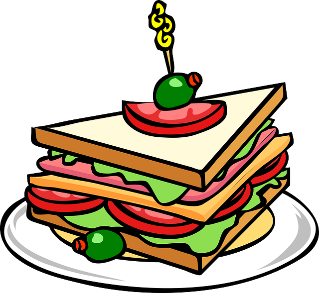 Sandwich Bread Food · Free vector graphic on Pixabay